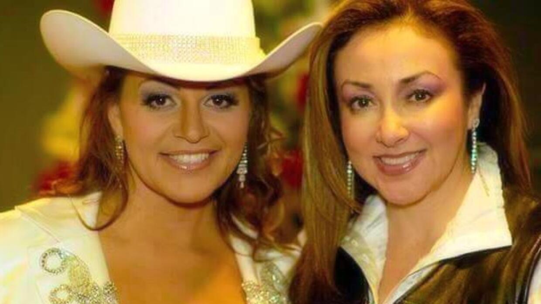 Viejos tiempos: Jenni Rivera con su amiga Laura Lucio