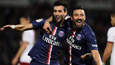 El atacante argentino marcó el gol del triunfo parisino a seis minutos d...