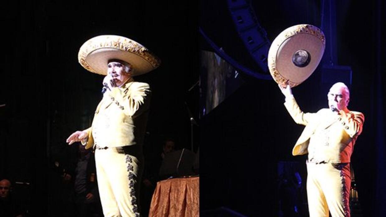 El Wey se fue al Anfiteatro Gibson a decirle adiós al señorón Vicente Fe...