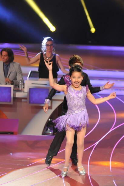 Melissa y Jarek son bastante sincronizados al bailar.