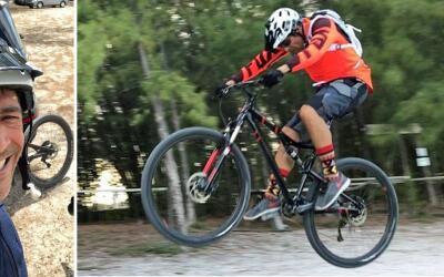 Johnny Lozada ciclsimo de montaña
