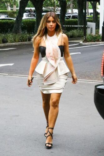 Por más que quiso convertirse en un ícono de moda este 2013, Kim Kardash...