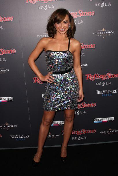 La bellísima bailarina de 'Dancing with the Stars' Karina Smirnoff es la...