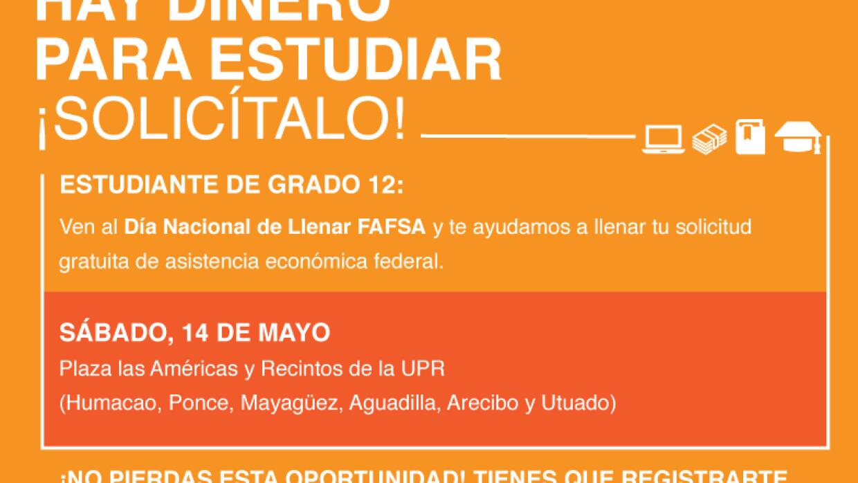 Día Nacional de llenar la FASFA