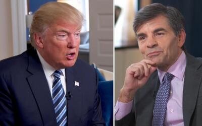 El momento incómodo en el que Donald Trump le dice a un periodista que s...
