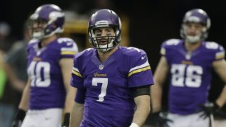 Christian Ponder podría recibir una oportunidad más con Vikings en 2014...