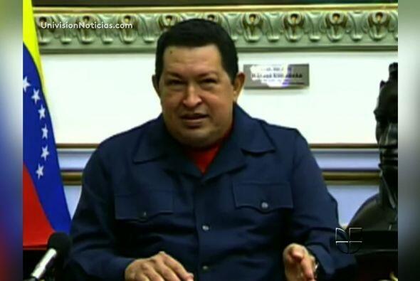 30 de junio 2011 Hugo Chávez afirmó que le habían extraído un tumor y qu...