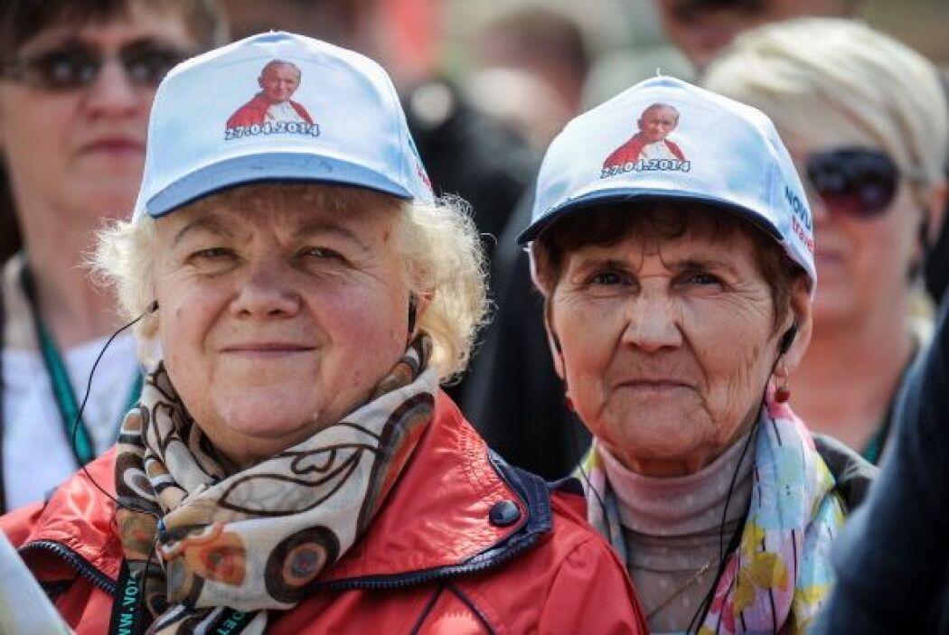 Otro de los souvenirs más vendidos fueron las gorras.