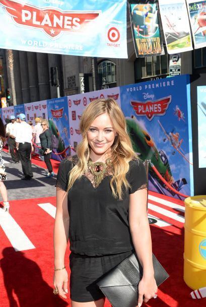Hilary Duff fue una de las celebridades que captó la atención de las cám...