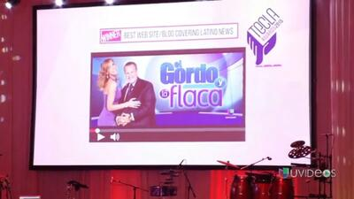 ¡Ganamos! La página digital del Gordo y La Flaca ganó el Tecla Award