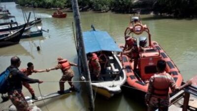 Unas 58 personas han sido rescatadas o llegaron a tierra por si mismas p...