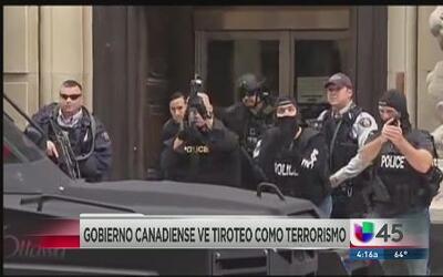 Canadá, en alerta por tiroteo en Parlamento