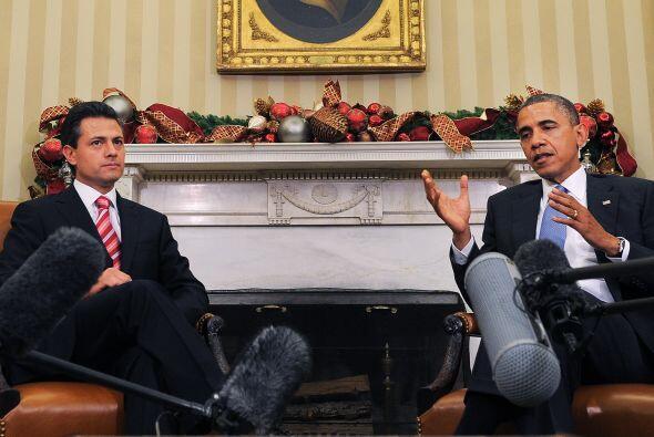 Obama destacó las propuesta del presidente electo de Méxic...