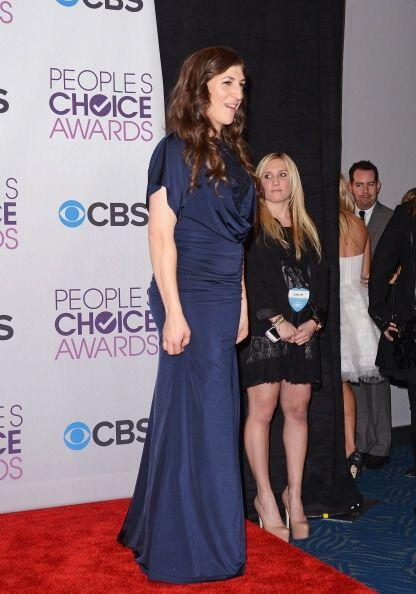 Mayim Bialik fue tan mal vestida a los People's Choice Awards que &iexcl...