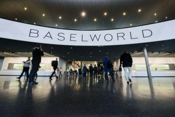 BaselWolrd se lleva acabo cada primavera en la ciudad de Basilea en Suiza.