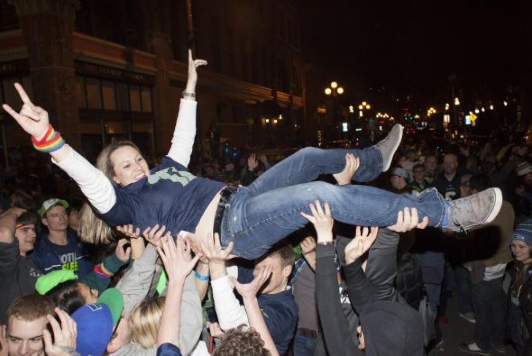 Las calles de Seattle ¡se volvieron la locura!