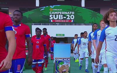 Estados Unidos goleó 4-1 a Haití y tomó un respiro en el premundial sub 20