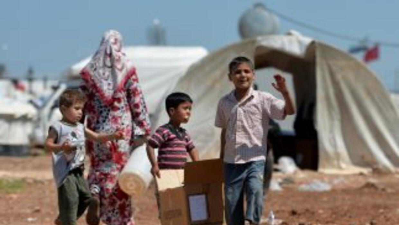 Más de 1,9 millones de refugiados sirios han huido de su país desde el i...