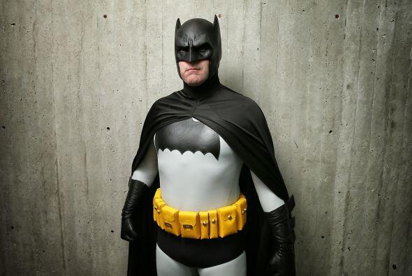 El traje de 'Batman' también tiene su modelo clásico.