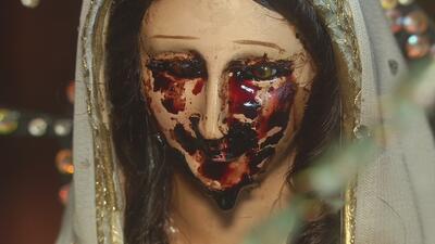 Virgen que llora sangre aseguran que vienen con malas profecías