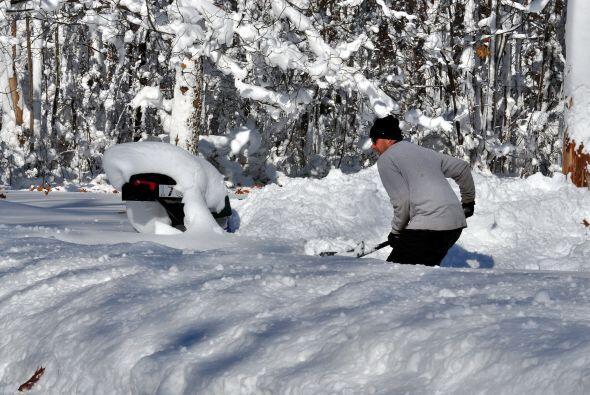 """Consideró, además, que esta tormenta de nieve es """"un hecho histórico""""."""