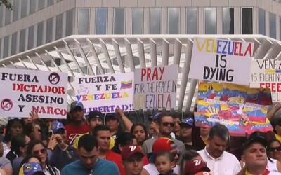 Venezolanos en todo el mundo se unen ante crisis en su país