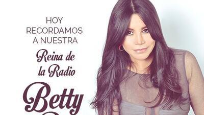Univision Radio rendirá homenaje a memoria y legado de Betty Pino con un...
