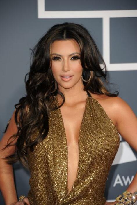 En el arreglo de Kim el cabello es el gran protagonista. Para lucir como...