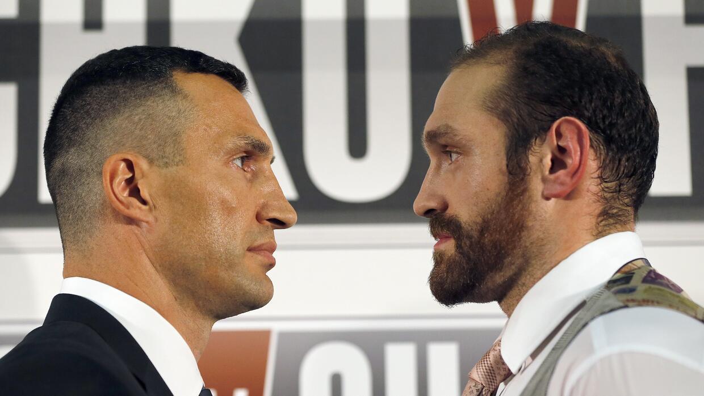 Klitschko y Fury.