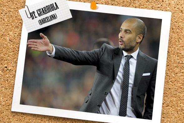 Como técnico de este grupo de cracks tenemos a Josep Guardiola, que en e...