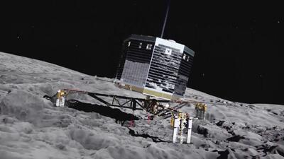 'Philae' despierta tras siete meses inactivo sobre un cometa