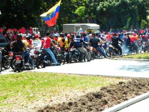 En nuestro viaje a Caracas tras la muerte del presidente Hugo Chá...