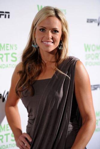 Jennie Finch, la bella jugadora de softbol de los Estados Unidos, ha par...