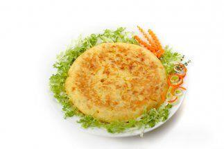Tortilla de huevo con tocino: A la clásica tortilla francesa con papas l...