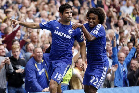 Otro partido que dejó risas fue el del líder Chelsea ante Aston Villa, q...