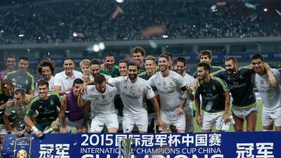 El club español derrotó al Milan en tanda de penaltis tras el empate a cero