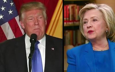 """Hillary Clinton: """"Si Trump gana la presidencia, llevará al país a bancar..."""