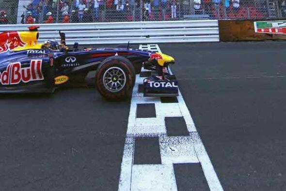 Con su victoria en el Gran Premio de Mónaco Vettel reforzó...
