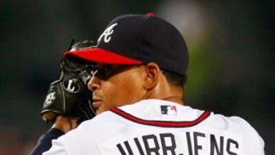 Jair Jurrjens es uno de los mejores lanzadores de Grandes Ligas esta tem...