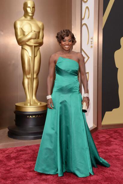 El vestido Escada de Viola Davis la colocó en la lista de las peores ves...
