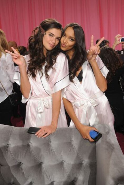 Backstage Victoria's Secret