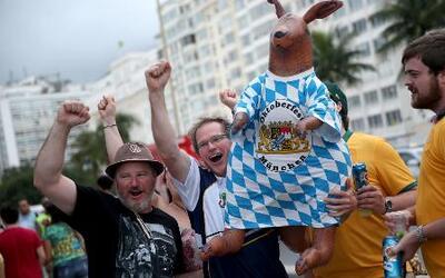 Mucha emoción a un día de la inauguración del Mundial Brasil 2014