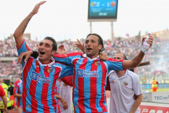 Los goles del Catania llegaron al final y no hubo tiempo para una reacci...