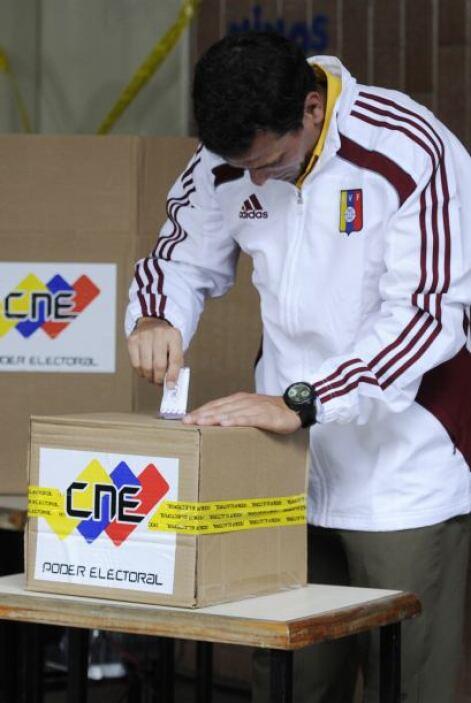 """""""Los venezolanos son la garantía de la transparencia de este proceso"""", d..."""