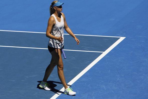 Maria siempre causa revuelo en sus presentaciones y es una de las tenist...