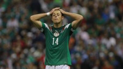 """El futbolista mexicano Javier """"Chicarito"""" Hernández."""