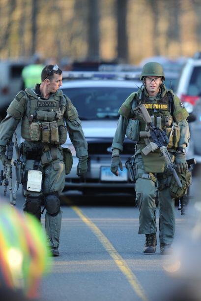 La población del colegio es menor de 540 estudiantes. El tiroteo ocurrió...