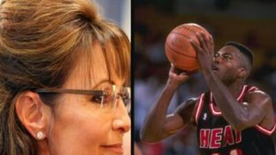 Sarah Palin y Glen Rice
