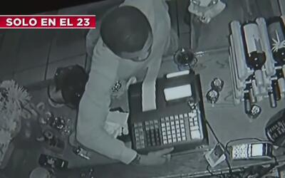 Captado en cámara: delincuente logró robar en un restaurante de Miami ut...