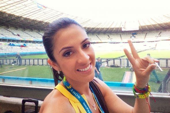 Llegó el día 31 desde Brasil, Maity ha disfrutado en grande de esta expe...